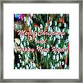 Merry Christmas 2 Framed Print by Skip Nall