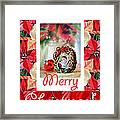 Merry Christmas From An Angel Framed Print