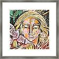 Messenger Of Peace And Possibility Framed Print