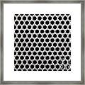 Metal Grill Dot Pattern Framed Print by Simon Bratt Photography LRPS