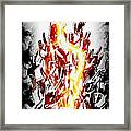 Metal On Framed Print by Frederico Borges