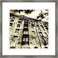 Metropolitan Wharf London Vintage Framed Print