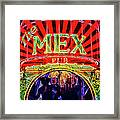 Mex Party Framed Print