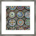 Mexican Plates Framed Print