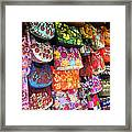 Mexican Purses Framed Print