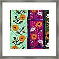 Mexican Table Runners Cancun Framed Print