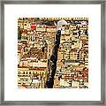 Mexico City Cathedral And Zocalo Framed Print by Jess Kraft