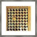 Mexuar In The Alhambra Framed Print