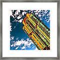 Miami South Pointe Framed Print