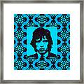 Mick Jagger Abstract Window P168 Framed Print by Wingsdomain Art and Photography