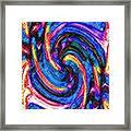 Micro Linear 36 Framed Print