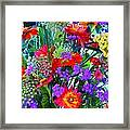 Mid August Bouquet Framed Print