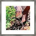Mine Cart Lost In Time V2 Framed Print