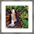 Miner's Falls Framed Print