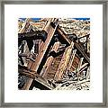 Mines Of Death Valley Framed Print