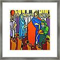Miracle At Cana Framed Print