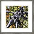 Mississippi At Gettysburg - Desperate Hand-to-hand Fighting No. 3 Framed Print