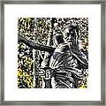 Mississippi At Gettysburg - Desperate Hand-to-hand Fighting No. 4 Framed Print