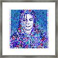 Mj Floral Version 2 Framed Print