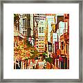 Mocca On Maiden Lane Framed Print by Bill Gallagher