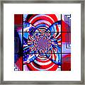 Mod 163 - Freedom Abstract Framed Print