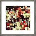 Modern Abstract Art Xvii Framed Print