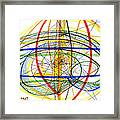 Modern Drawing Fourteen Framed Print