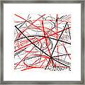 Modern Drawing Seventy-two Framed Print