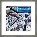 Modern Shopping Mall Interior Framed Print