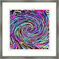 Molten Color Framed Print by RJ Aguilar