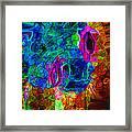 Molten Glass Framed Print