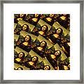 Mona Lisa Framed Print by Moshfegh Rakhsha