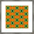 Monarch Butterfly Abstract 20130203p28 Framed Print