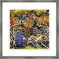 Monet Under Water Framed Print