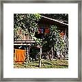 Monk Home Framed Print