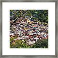 Monterosso From Above - Cinque Terre Framed Print