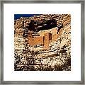 Montezuma's Castle Framed Print