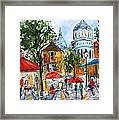 Montmartre Paris Framed Print