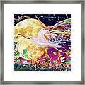 Moon Fairy Variant 1 Framed Print