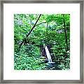 Moon Falls Framed Print