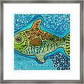 Moonfish Framed Print