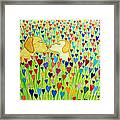 More Puppy Love  Framed Print