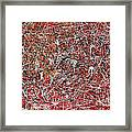 Morris Louis Meets Jackson Pollock Framed Print