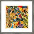 Mosaik Framed Print