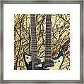 Mosrite Joe Maphis Double-neck Guitar  Framed Print