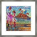 Mother And Child II Framed Print