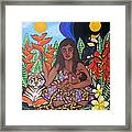 Mother Earth Sustains Framed Print