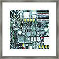 Motherboard Abstract 20130716 Framed Print