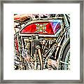 Motorcycle - 1914 Excelsior Auto Cycle Framed Print