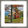 Mountain Cabin 1 Framed Print